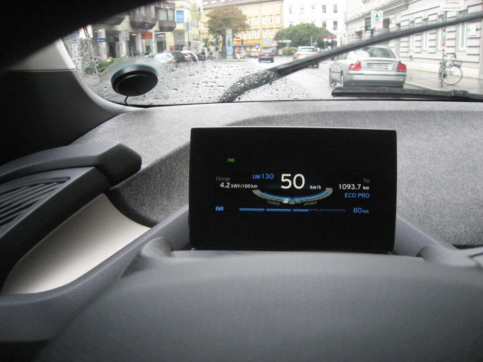 E-Auto in Wien von DriveNow